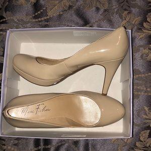 nude heels from macy's